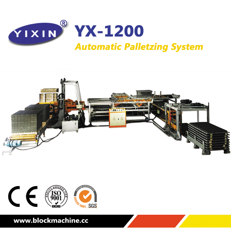 Off Line Cuber System for Block Factory Palletess Machine