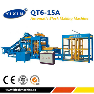 Chine Best Model QT6-15 Interlocking Color Paver Production Machine