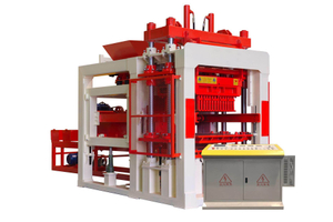 QT10-15 Automatic Hydraulic Concrete Hollow Block Making Machine
