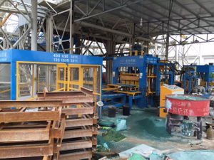 India QT5-15 Fly Ash AAc Concrete Brick Making Machine Manufacturer