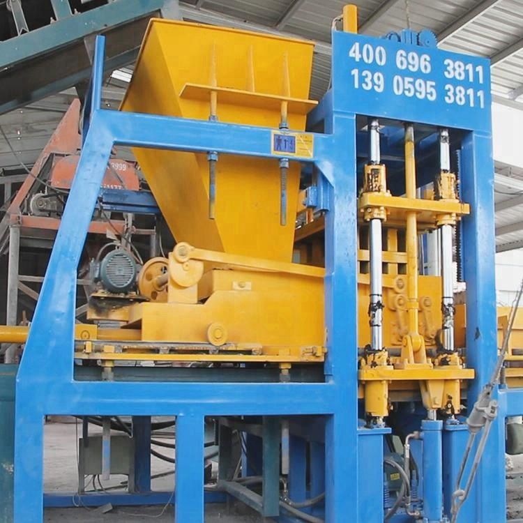 QT6-15 Semi Automatic Machine for Make Bricks