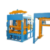 Germany Fully Automatic Concrete Brick Making Machine with pallet provider feeder