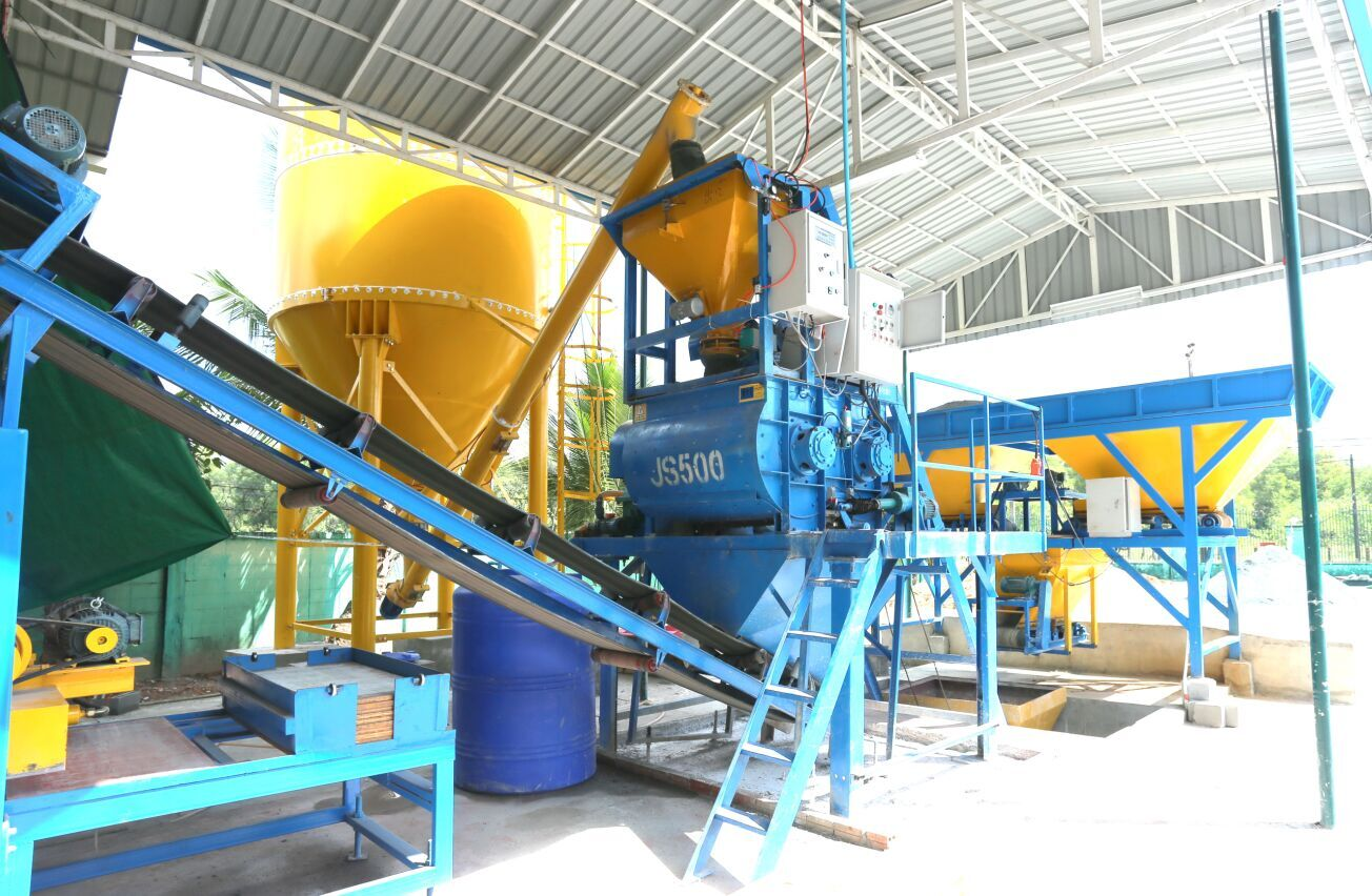 Best Seller QT8-15 Concrete Hollow Block Making Machine China Supplier
