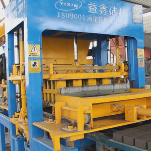 China Yixin Concrete Block Bricks Making Machine Supplier