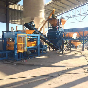 QT10-15 Fully Automatic Hydraulic And Vibration Paver Block Machine