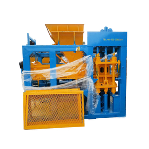 China QT8-15 Middle Size Concrete Block Making Equipment High Output